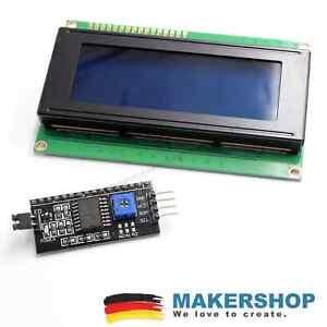 LCD-2004-HD44780-blau-I2C-Interface-Display-Arduino-Raspberry-LCD2004