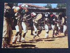 CPSM AFRIQUE AUSTRALE DANSES FOLKLORIQUES ZOULOU AFRIQUE DU SUD