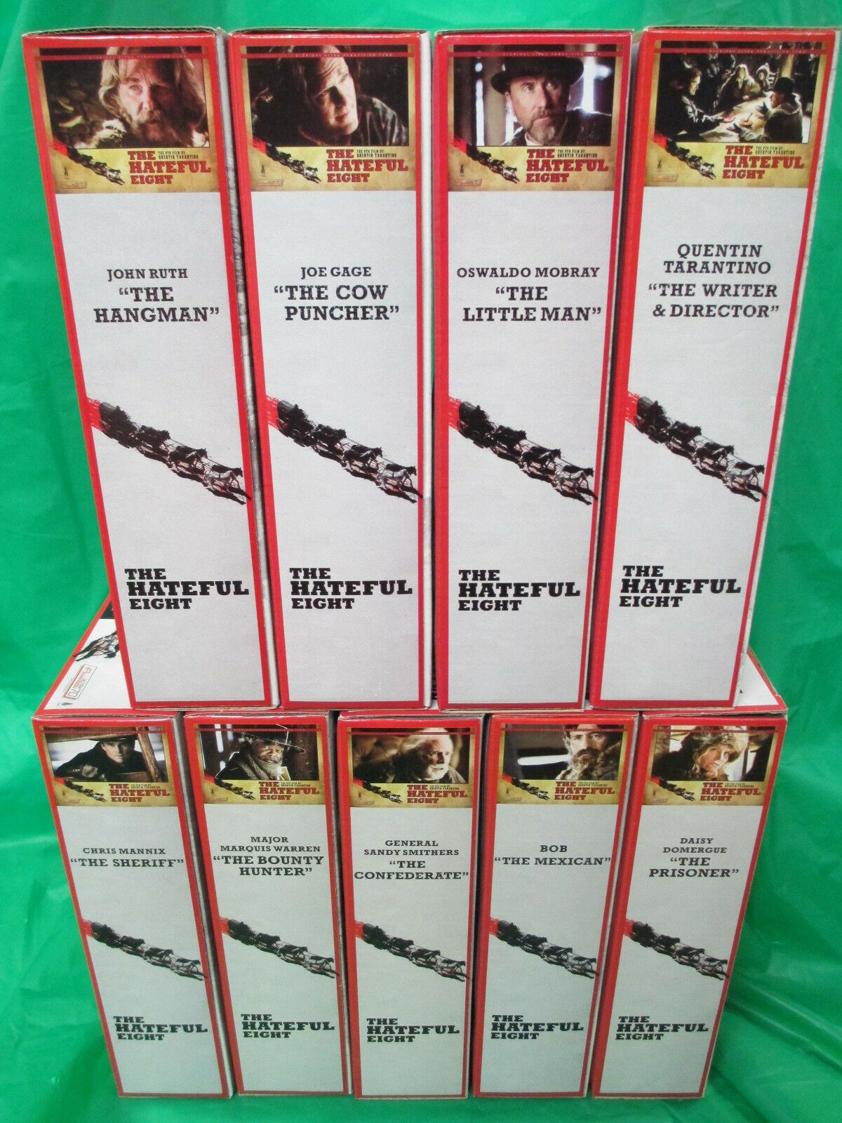 Hateful  Eight NECA Reel giocattoli 2015 Set of 9 Limited to 3000 Tarantino  vendita con alto sconto