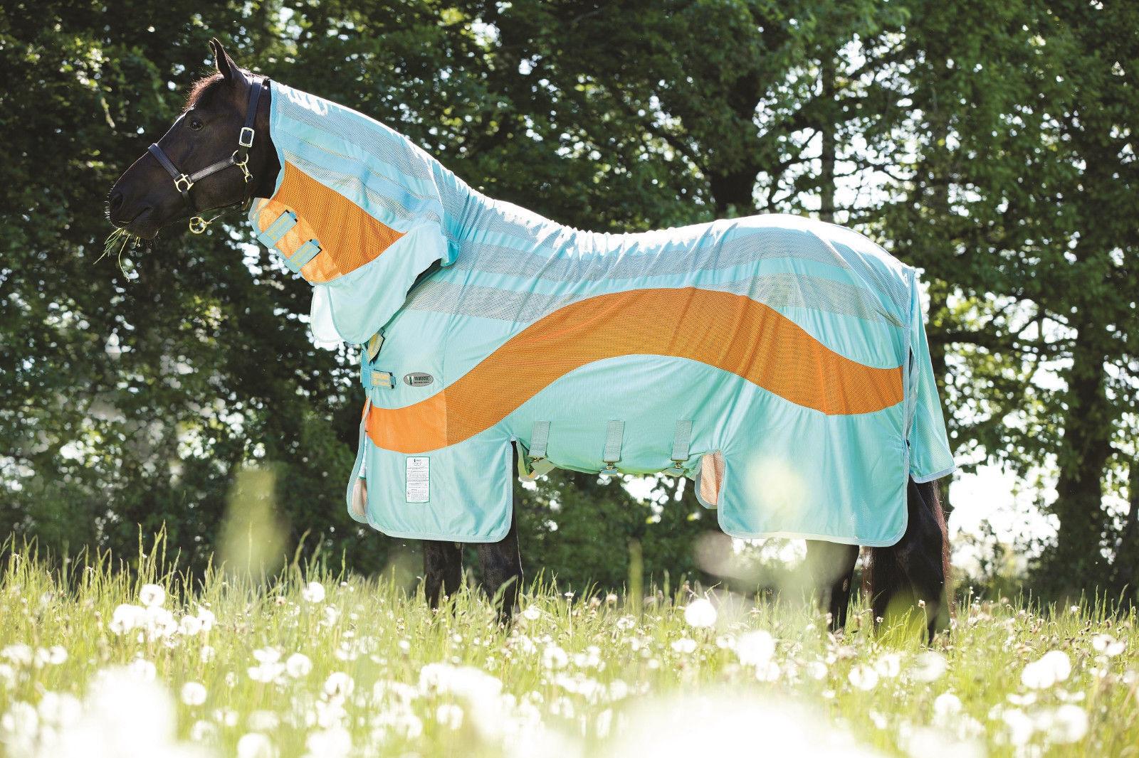 %Horseware Amigo Evolution Vamoose NEU-sehr starke starke starke Insektenabwehr Fliegendecke 03368b