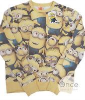 Primark Offficial Mens Universal Studios Despicable Me Minions Jumper Sweatshirt