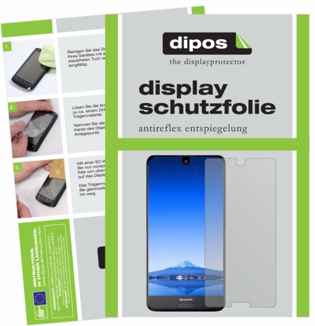 6x Sharp Aquos S2 Screen Protector Protection Anti Glare dipos
