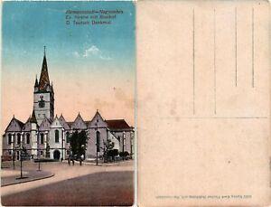 CPA-NAGYSZEBEN-SIBIU-Ev-Kirche-mit-Boschof-ROMANIA-503740