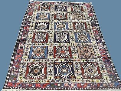 Orientteppich handgeknüpfter Perserteppich Nomaden Teppich 270x160 UNIKAT