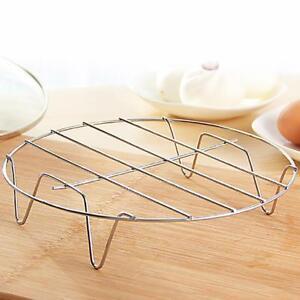 Kitchen-Baking-Mini-Round-Cooling-Rack-Heavyweight-Chrome-19-5-4cm-Fashion