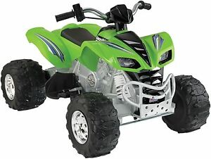 Image Is Loading Power Wheels Kawasaki KFX 12 Volt Battery Powered