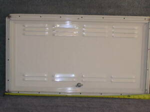 RV Trailer Toy Hauler Battery LPG Gas Fuel Vented Access Hatch Door 27.75 x15.75