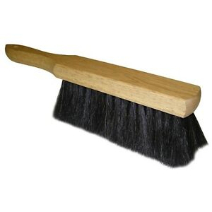 Quickie-412-Horse-Hair-Bench-Brush-with-Wood-Handle-13-5-034
