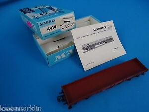 Marklin-4914-DB-Four-Axled-Flat-Car-Build-Kit-OVP