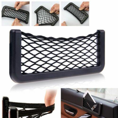 2Pcs Van Truck Car Net Mesh Storage Bag Pocket Organizer Holder Phone//Wallet