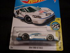 HW HOT WHEELS 2017 HW SPEED GRAPHICS #1/10 2016 FORD GT RACE WHITE HOTWHEELS