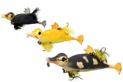 TOPWATER lure 10,5cm 28g 3 COLORS Savage Gear 3D Suicide Duck