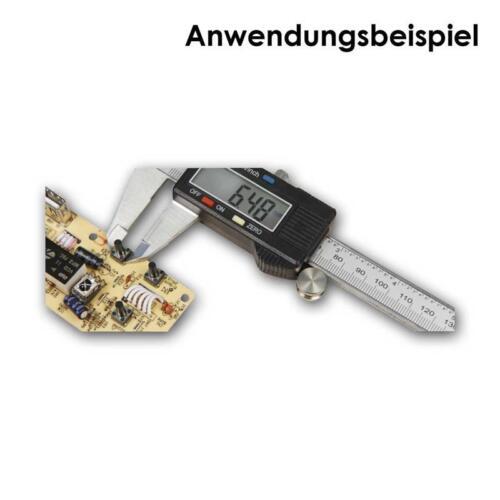 200mm digitale Schieblehre MS-200 Messschieber mm//inch-Anzeige LC-Display