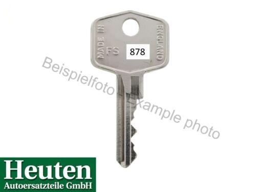 passend für fast alle Engländer. KEY//FS878 Schlüssel FS878 Wilmot Breeden