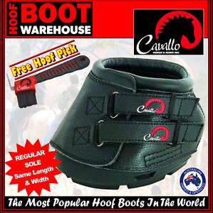 Cavallo 'SIMPLE' Hoof Boots (Pair)  -  Horse. Equine. Predection. REGULAR SOLE