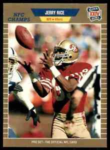 1989-ProSet-GOLD-383-Jerry-Rice-RARE-ODD-San-Francisco-49ers-Super-Bowl-XXIV