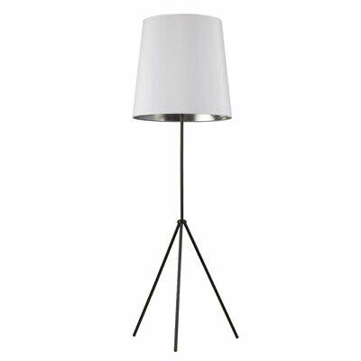 Dainolite 3 Leg Floor Lamp In White And Matte Black 65214030304 Ebay