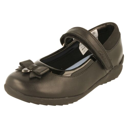 Ting Fever Clarks Girls School Shoes