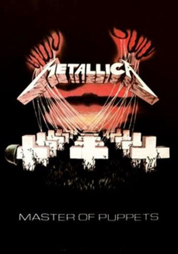 METALLICA MASTER PUPPETS ALBUM COVER POSTER LAMINATED 61X91CM PICTURE PRINT