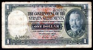 Straits-Settlements-Government-issue-1-dollar-1-1-1935-L-35-36826-Pick