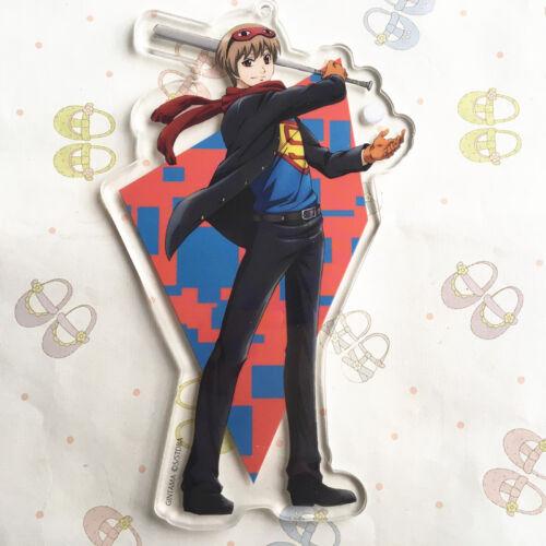 T1261 Anime Gintama Acrylique Keychain Porte-clés Course Bretelles Cosplay