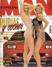 MAN # 128 / ANNA NICOLE SMITH GIANT POSTER VICTORIA SILVSTEDT GENA LEE NOLIN