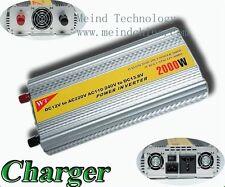 2000W Power Inverter 12V DC to 220V AC Converter Solar Invertr Power Supply