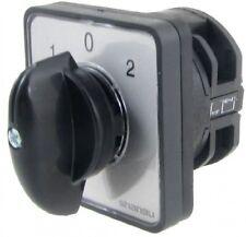 AC 440V 240V 1-0-2 Position Rotary Cam Changeover Switch
