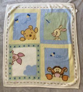 Disney Winnie the Pooh and friends luxury plush fleece baby blanket