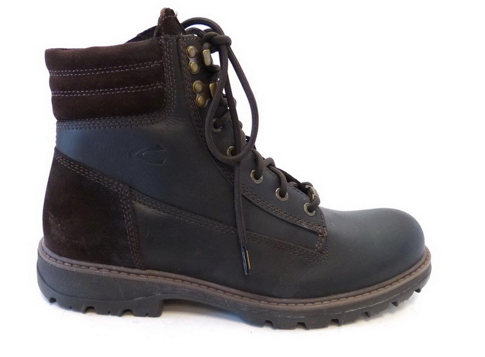 Camel Active warm Schnür Boot 36412 02 mocca braun Goretex wasserdicht Leder