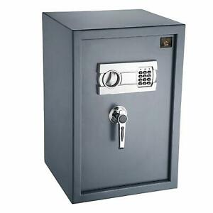Digital Security Safe Electronic Lock Box Home Office Gun Hidden Heavy Duty Cash Ebay