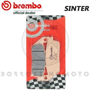 DernièRe Collection De Pastiglie Freno Posteriori Brembo Sinterizzate 07096xs Honda Sw-t / Abs 600 2012 Performance Fiable