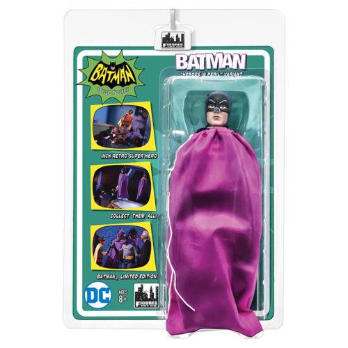 environ 20.32 cm Batman 66 Classic TV Show style rétro 8 in chiffres Batman Dans Sac Violet