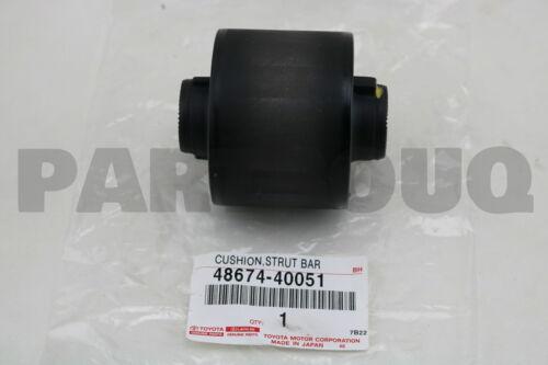 4867440051 Genuine Toyota CUSHION STRUT BAR 48674-40051