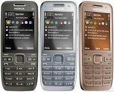 New Nokia E52 Mobile Phone Smartphone WIFI GPS - Unlocked - Grey