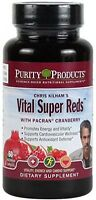 Vital Super Reds Vegetable Capsules, Vitamin Supplements Health Nutrition on Sale
