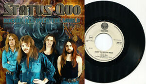 STATUS-QUO-Rockin-039-All-Over-The-World-7-034-45-UNIQUE-1-print-ONLY-art-sleeve