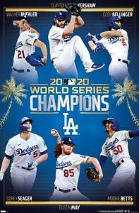 MLB Los Angeles Dodgers - 2020 World Series Champions Poster
