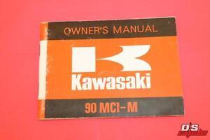 KAWASAKI 90 MC1-M OWNERS MANUAL PART# 99997-828
