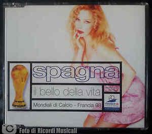IVANA SPAGNA - IL BELLO DELLA VITA(1998)CDS **COME NUOVO**