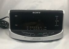 Sony ICF-C492 Dream Machine Clock AM//FM Radio Dual Alarm