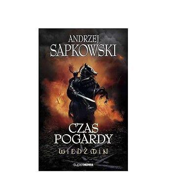 CZAS POGARDY WIEDZMIN THE WITCHER Andrzej Sapkowski tom 2 POLISH BOOK *T *JBook