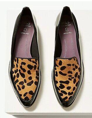 M\u0026S Ladies Block Heel Animal Leopard