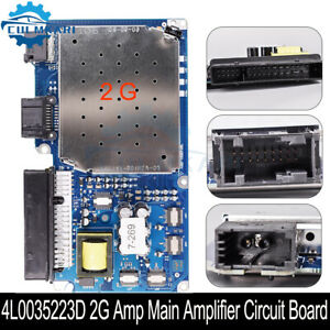 New 2G Amp Main Amplifier Circuit Board Fit For AUDI Q7 2007-2009 4L0035223D/A