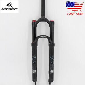 "US 26//27.5//29/"" Straight Tapered MTB Bike Suspension Fork Air//Mechanical Forks QR"