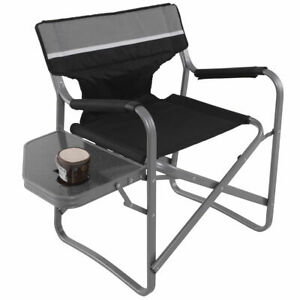 Image Is Loading Director 039 S Chair Folding Side Table Outdoor