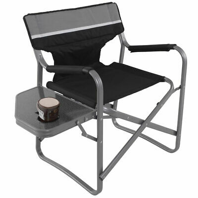 Prime Directors Chair Folding Side Table Outdoor Camping Fishing Cup Holder Ebay Andrewgaddart Wooden Chair Designs For Living Room Andrewgaddartcom