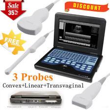 Contec Portable Ultrasound Scanner Machine 3 Probesconvex Linear Transvaginal