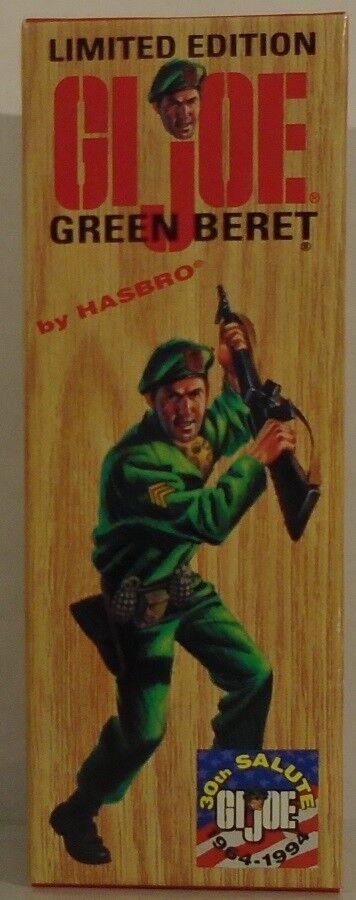 GI Joe verde Beret Joseph Colton Intrepid Convention Exclusive 1994 BOX ONLY