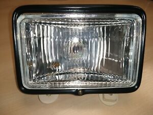 New-Rectangular-Headlight-7-5-034-with-Surround-Bracket-to-fit-Yamaha-DT125R